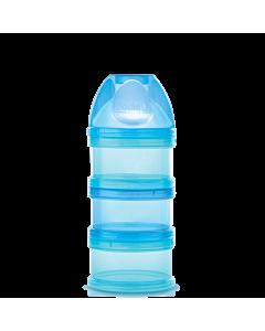 Boite doseuse pour lait infantile bleue
